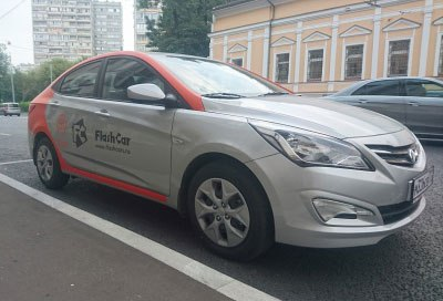 Каршеринг Flashcar