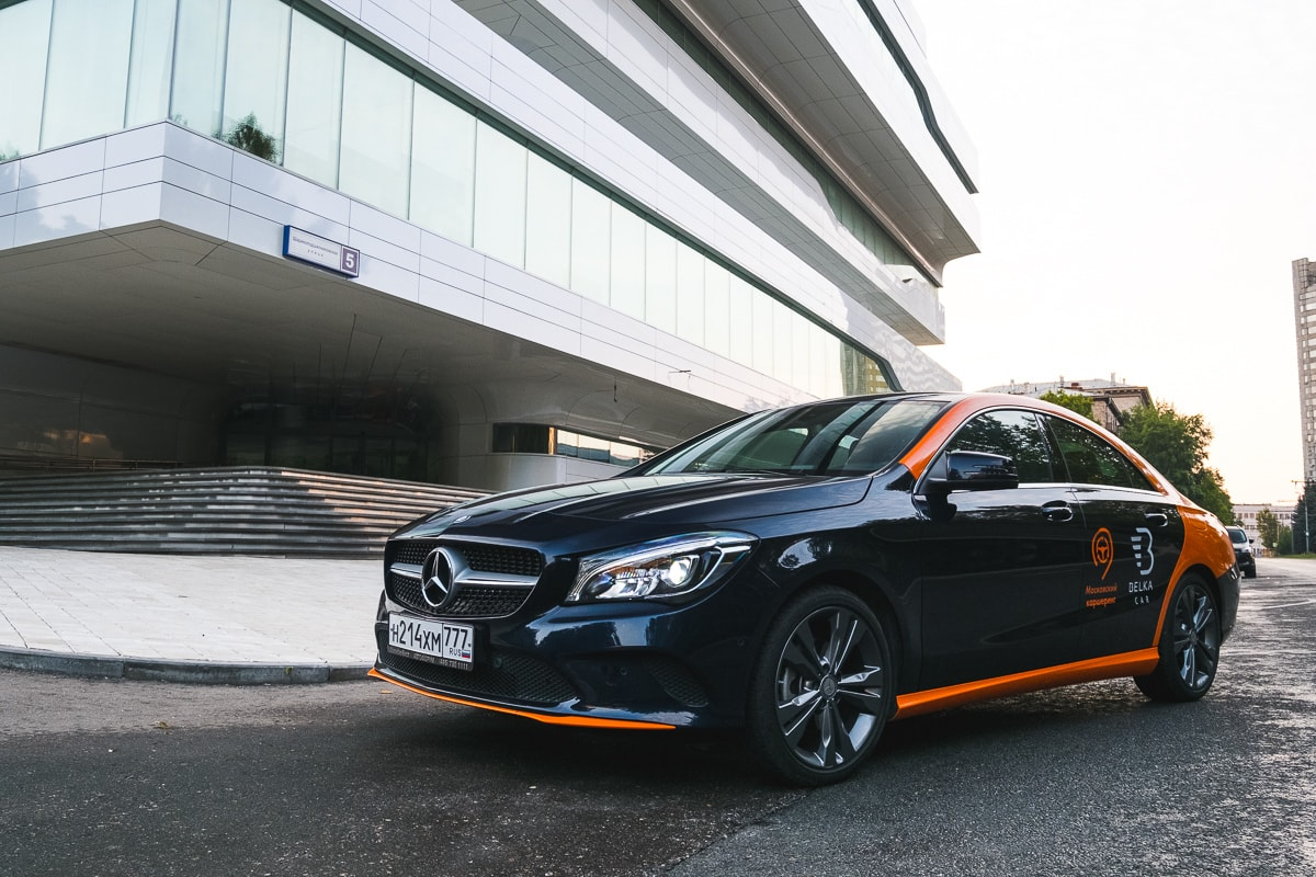 Mercedes-Benz CLA 200 от Belka Black