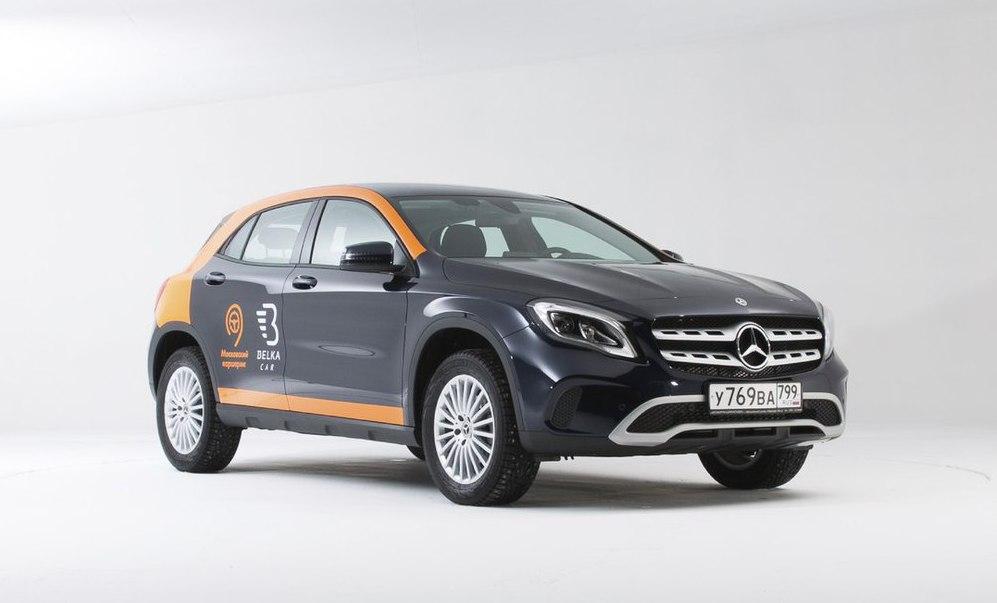 Mercedes-Benz GLA 200 OS от Belka Black