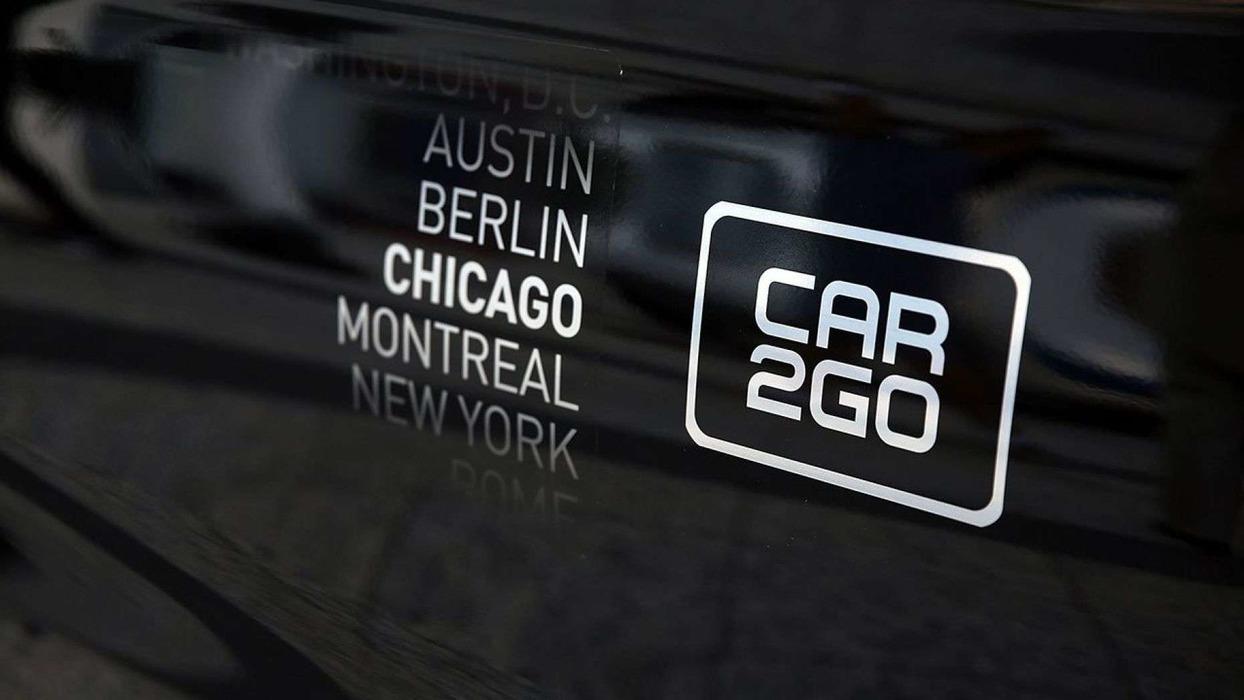 У чикагского подразделения каршеринга Car2Go похитили около 100 автомобилей