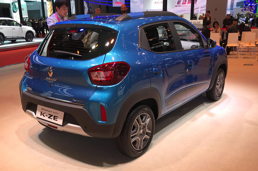 Renault представил предсерийную версию бюджетного электрокара