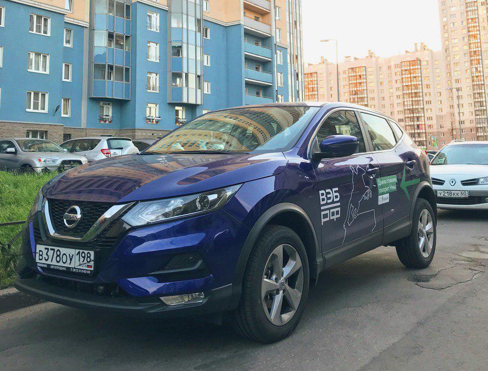 В Петербурге появились новые Nissan Qashqai от YouDrive. О поставке этой модели с Nissan договаривался Mail.Ru