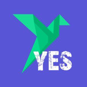 Логотип Кикшеринг Yes Sharing