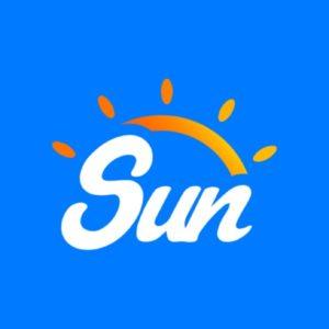 Логотип Кикшеринг Sun Rent
